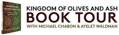 Kingdom of Olives and Ash Book Tour – Writers Confront the Occupation Mobile Logo